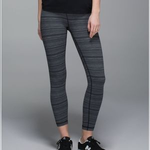 Lululemon Athletica High Times Pant Cyber Stripe